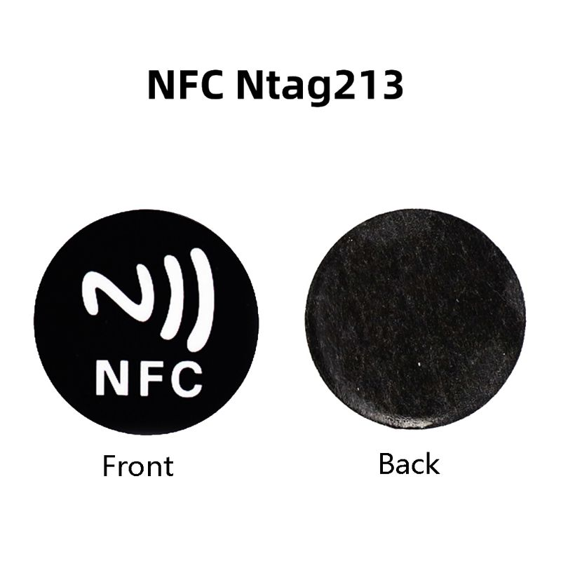 6 шт., универсальные металлические наклейки, NFC, 213