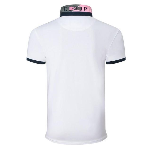 NEW Eden Men short Polo shirts France Homme Polo Classic Park solid Casual tops Cotton Comfortable Men Tees  plus size M- 3XL 4
