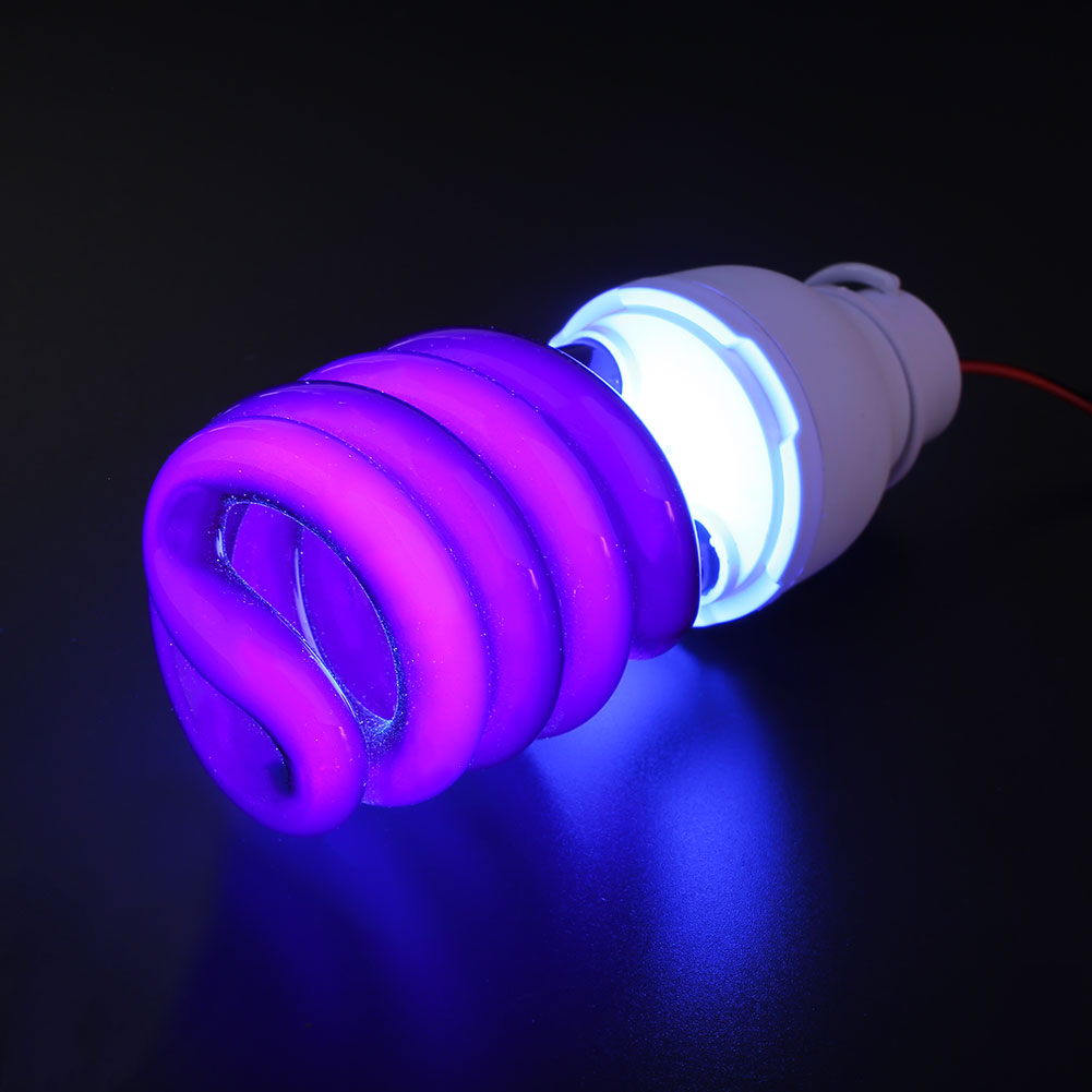 Lights Light Bulb Ultraviolet UV Fluorescent 40W Led Lamp W/Clip W/Clip DC12V Bright CFL
