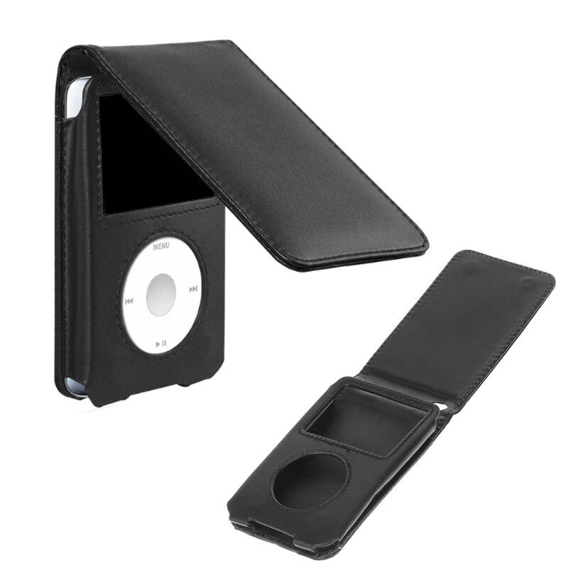 Кожаный чехол для Apple iPod Classic 80/120/160 Гб со съемным зажимом
