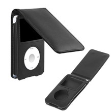 Leather Cover Case For Apple iPod Classic 80/120/160GB With Detachable Clip(China)