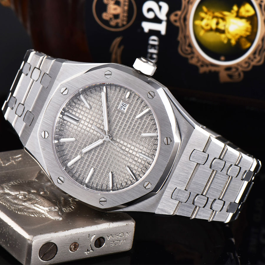 Permalink to watch men 316L Solid stainless steel automatic mechanical watch date Luminous waterproof 41MM LM55