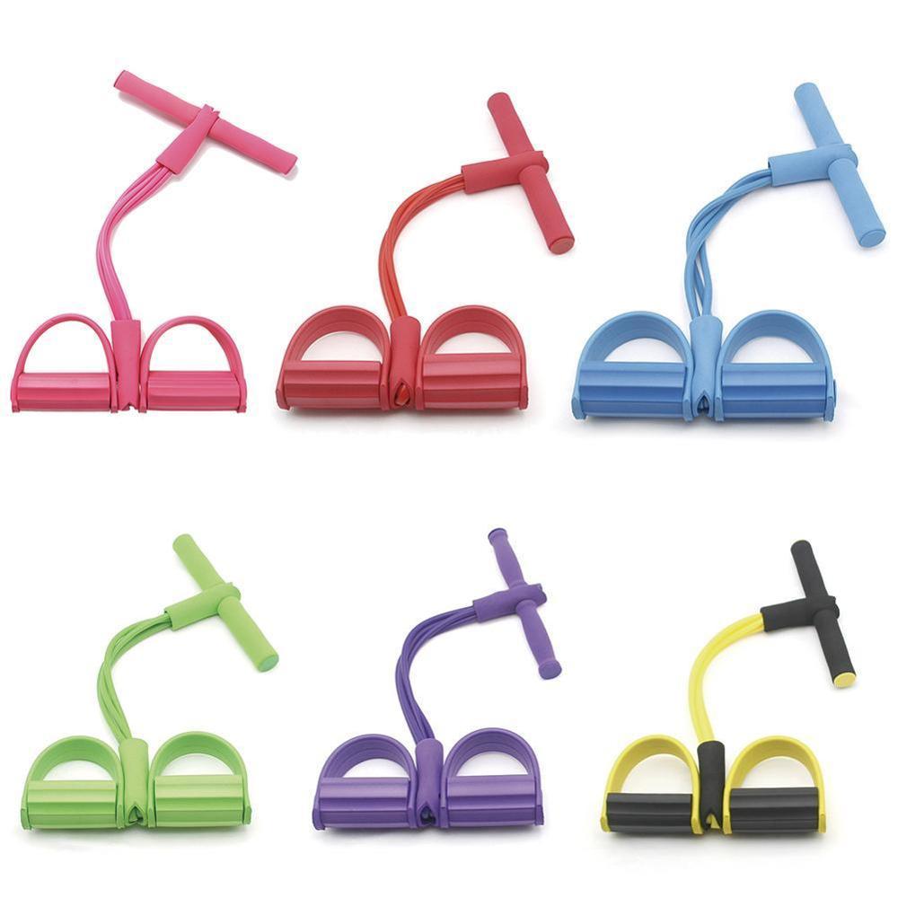 Multi-funktions Einstellbare Push-pull Seil 4-strang Sit-Up Spanner Fitness Zubehör
