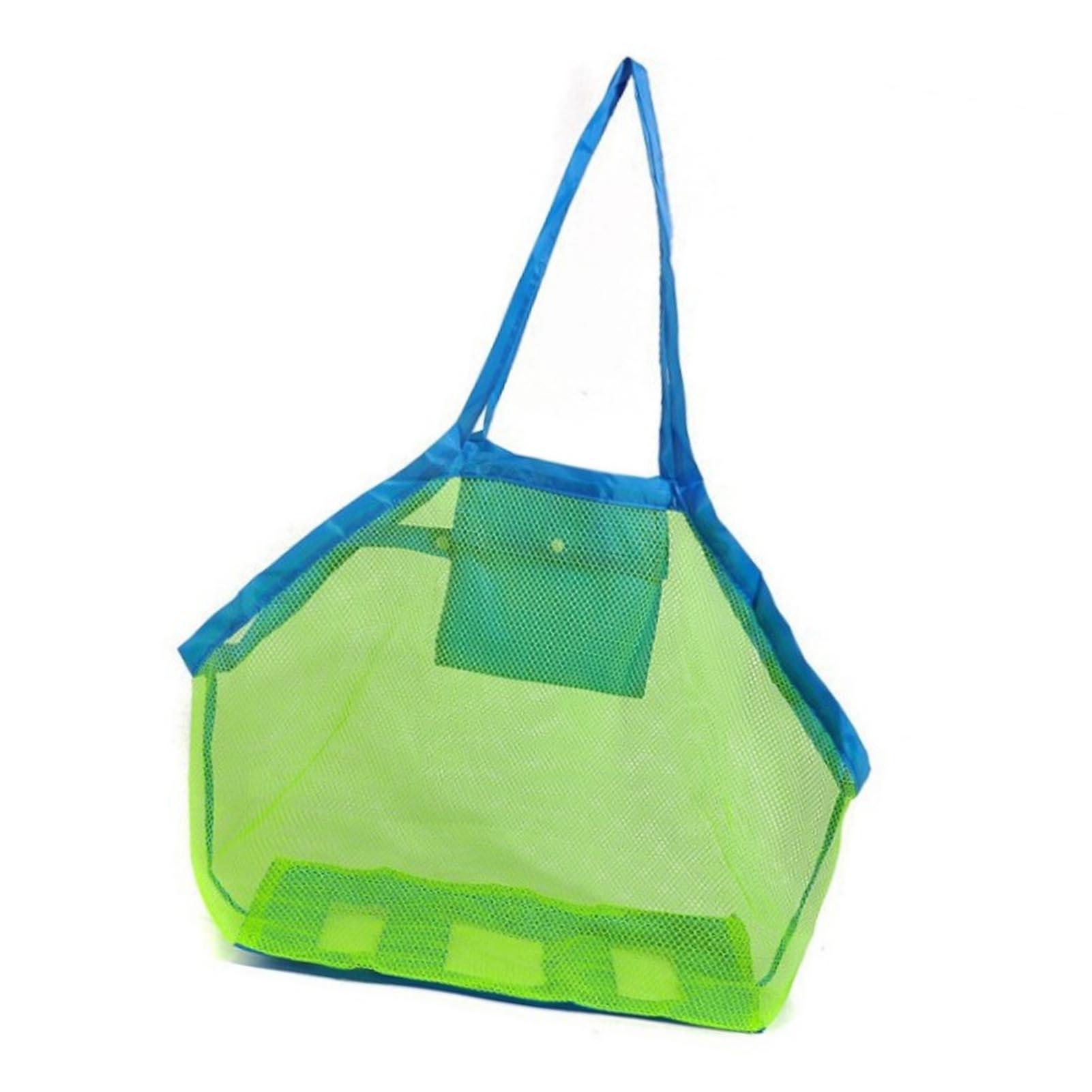 Kids Beach Toys Clothes Bags Toy Beach Mesh Bag Children Sand Away Protable Storage Sundries Organizers Bag Cosmetic Makeup Bag