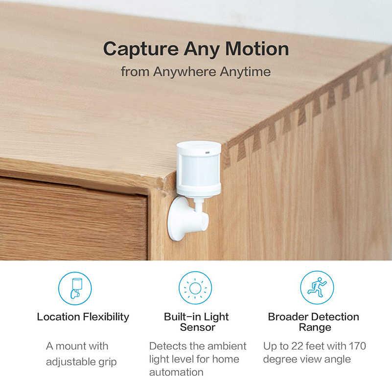 Xiaomi Aqara capteur de mouvement mouvement intelligent du corps PIR capteur de corps humain sans fil Wifi Zigbee utilisation avec Hub de passerelle pour l'application à la maison Mi