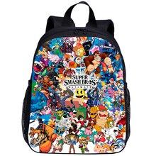 2020 New 3D Super Smash Bros Children Backpacks Girls Boys School Backpack Toddler Kids School Bags Kindergarten Cartoon bookbag
