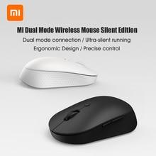 Xiaomi – souris optique sans fil Mi 2.4G, double Mode, silencieuse, avec USB, clic silencieux, Portable et ergonomique