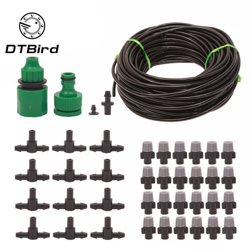 Wetting And Dust Removal Atomization Garden Plant Automatic Waterer Spray Cooling Watering Suit Lazy Irrigation System Device