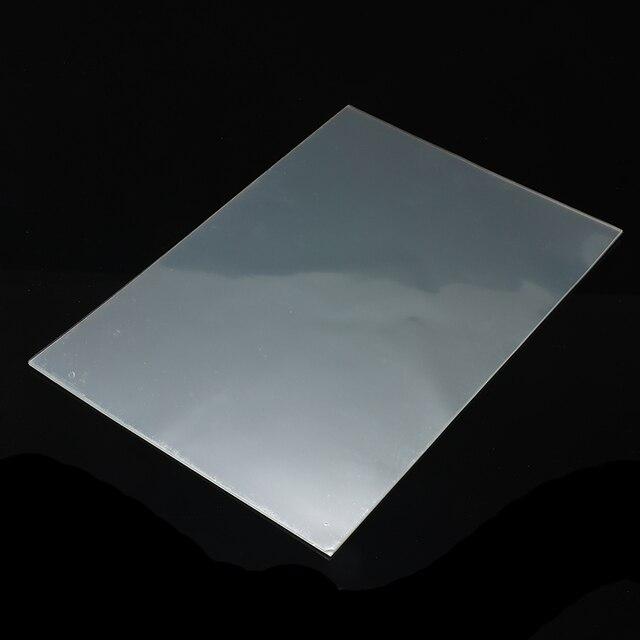 20 pièces/ensemble Transparent A4 Double face feuille adhésive clair bricolage artisanat forte bande adhésive papier école fournitures de bureau offre spéciale