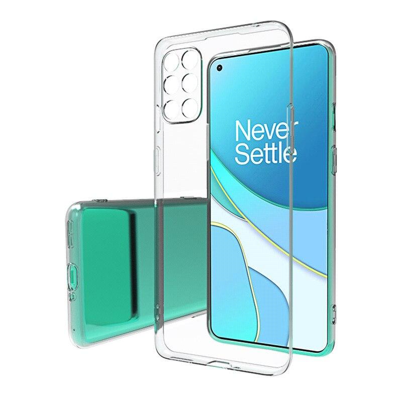 Для OnePlus 8T чехол простой тонкий мягкий TPU прозрачный чехол для телефона чехол для One Plus 8T OnePlus8T чехол