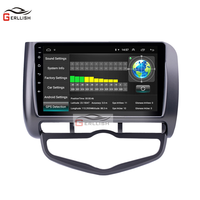 9 IPS Screen Android Car Radio Navigation GPS right hand for Honda city JAZZ FIT 2002 2003 2004 2005 2006 2007 2008