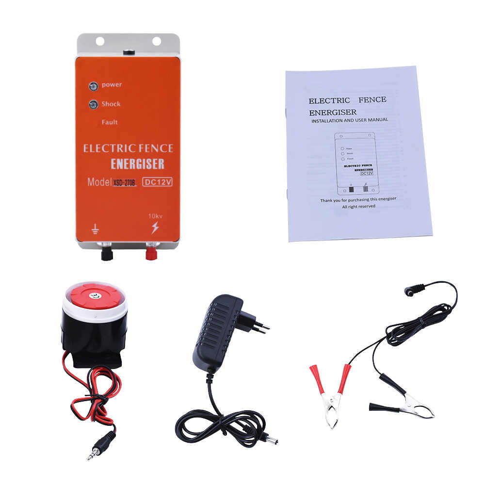 Animals Electric Fencing Controller Electric Fence Energizer Moulde 10KM Helper
