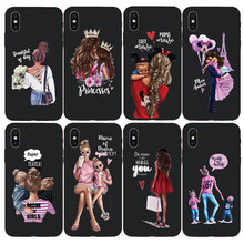 Mom trend Phone Case For iPhone 7 8 Plus 6 6 s Plus X Xs Max XR 5 5s SE Soft TPU For iPhone X Case Back Cover стоимость