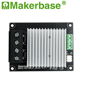 Image 3 - Makerbase  MKS MOSFET 3D printer parts heating controller for heat bed/extruder MOS module exceed 30A support big current