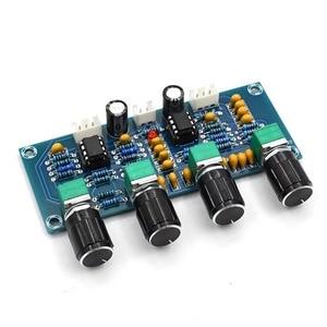 Image 4 - Placa amplificadora de som repalhável ne5532, equalizador ajustável de graves agudos e áudio, pré amplificador com controle de tom