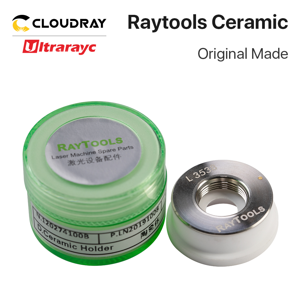 Ultrarayc Original Made Raytools Ceramic Nozzle Holder Dia.32mm For Raytools Fiber Laser Cutting Head