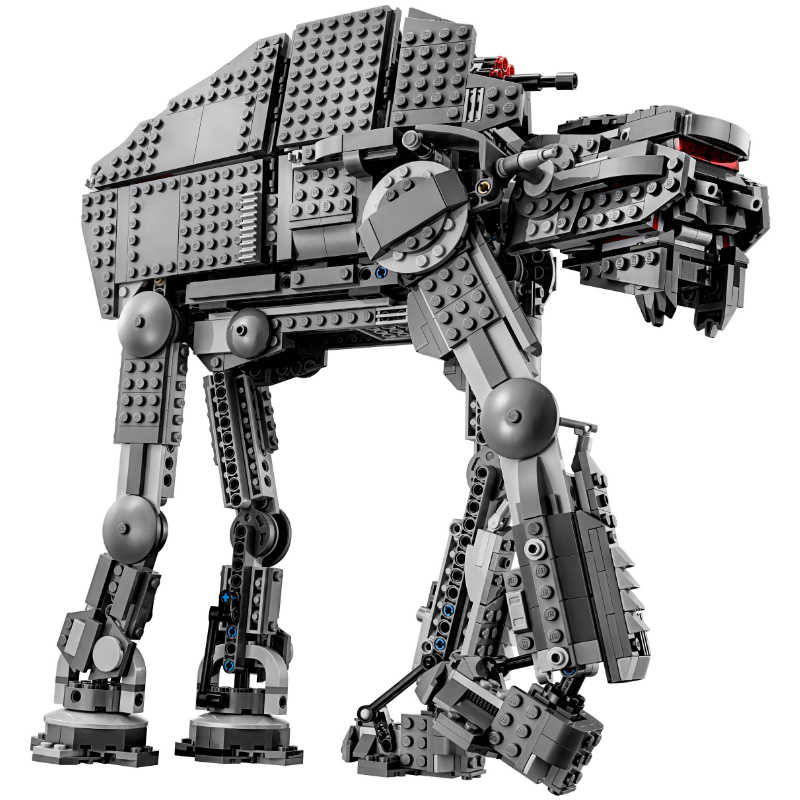 ใหม่ 05130 Legoinglys ของเล่น Star Wars Series First Order Heavy Assault Walker Building Block อิฐ 75189 Starwars ของเล่น