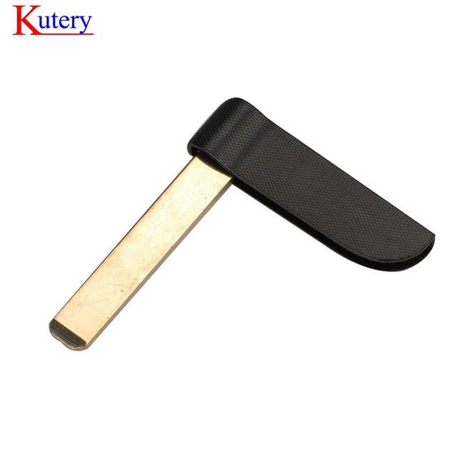 kutery 3 Button Smart Card For Renault Clio Logan Megane 2 3 Koleos Scenic Card Case Black Car Key Fob Shell With Small Key