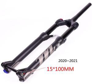 Image 5 - אופניים מזלג Manitou המקצץ Comp מארוול 27.5 29er גודל אוויר מזלגות הרי MTB אופני מזלג השעיה שמן וגז מזלג SR SUNTOUR