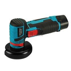 Mini amoladora angular sin escobillas de 12 voltios, mini cortadora con una batería