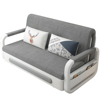 DB 888 1.8m Collapsible Storage Removable And Washable Assembly Dual use Sofa Bed Multi function Cotton Single Double Bed
