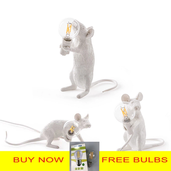 Cute Mouse Figure LED Table Lamp Desk & Table Lamps Novelty Lightings