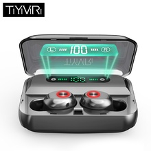 bluetooth earphone wireless headphones TWS sport earbuds Handsfree bluetooth 5.0 headset for phone Dual Microphone With Charging askmeer 8gb mp3 player sport earphone wireless bluetooth sweatproof earbuds headset earpiece with microphone handsfree for phone