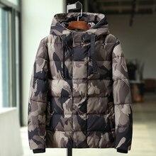 Plus rozmiar 10XL 9XL 8XL7XL 6XL 5XL 2019 nowy mężczyzna zimy ciepłe grube kurtki mężczyzna kurtki wiatroszczelna na co dzień płaszcz z kapturem mężczyźni parki