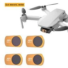 Lente de Filtro de vidrio óptica para DJI Mavic Mini UV/CPL/ND64 PL/ND8 ND16 PL ND32 Protector de lente de filtro de noche estrellada para DJI MAVIC Mini