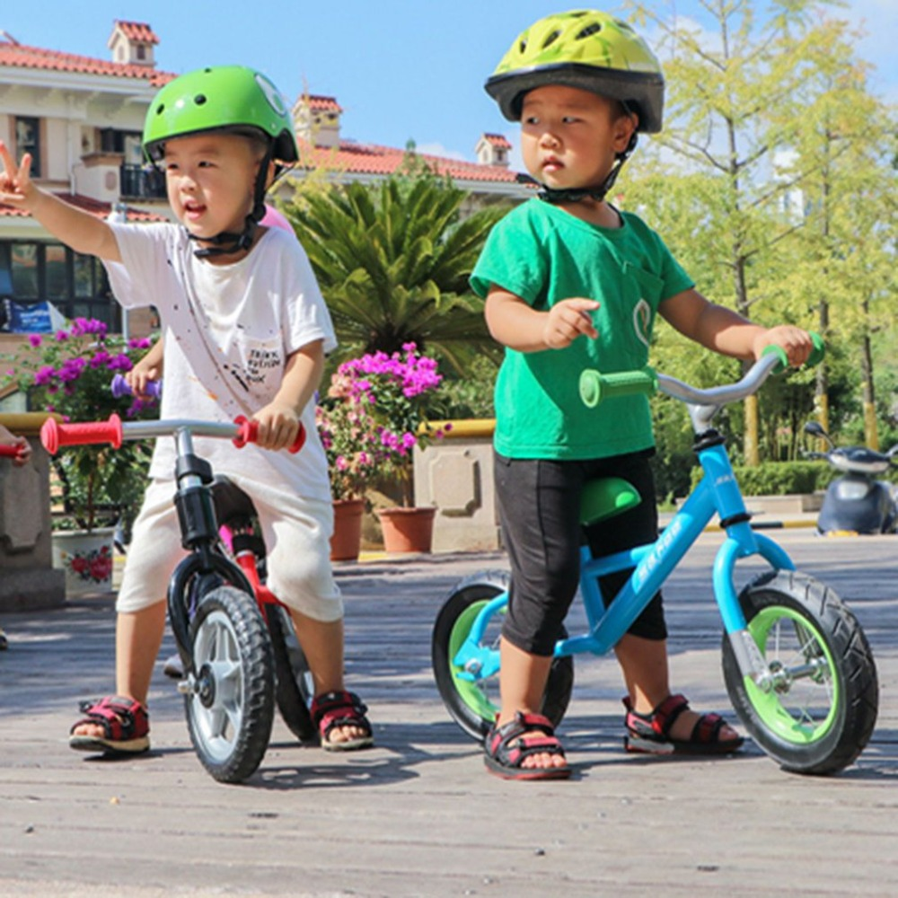 Hff28c3cba4da41d386729d6ff17ad4b9r 10 inch Children Balance Bike Kids Riding Bicycle Indoor Outdoor Balance Bicycle No Foot Pedal Baby Walker Riding Toy