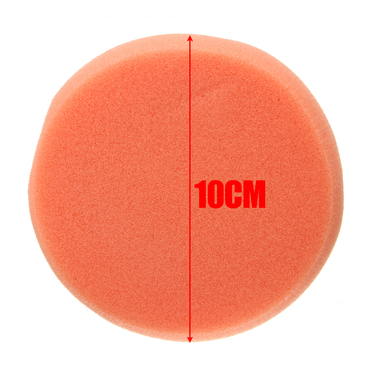 10CM Thicken Microfiber Applicator Sponge Foam Car Buffing Waxing Polishing Cleaning Sponge Pads With Handle