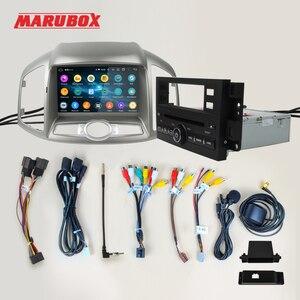 Image 5 - MARUBOX רכב מולטימדיה נגן אנדרואיד 10 GPS רכב רדיו אודיו אוטומטי עבור שברולט קפטיבה 2011 2015 8 ליבות 4G 64G עם DVD KD8406