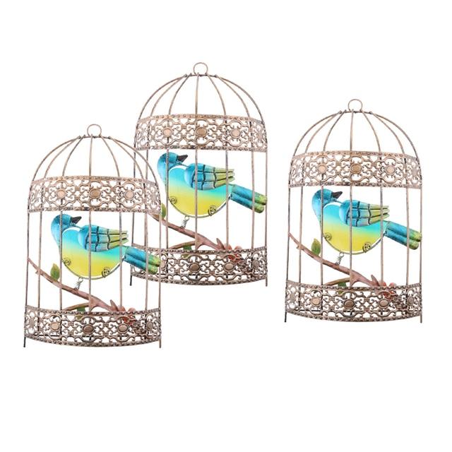 Фото 3 шт настенная птичья клетка цена