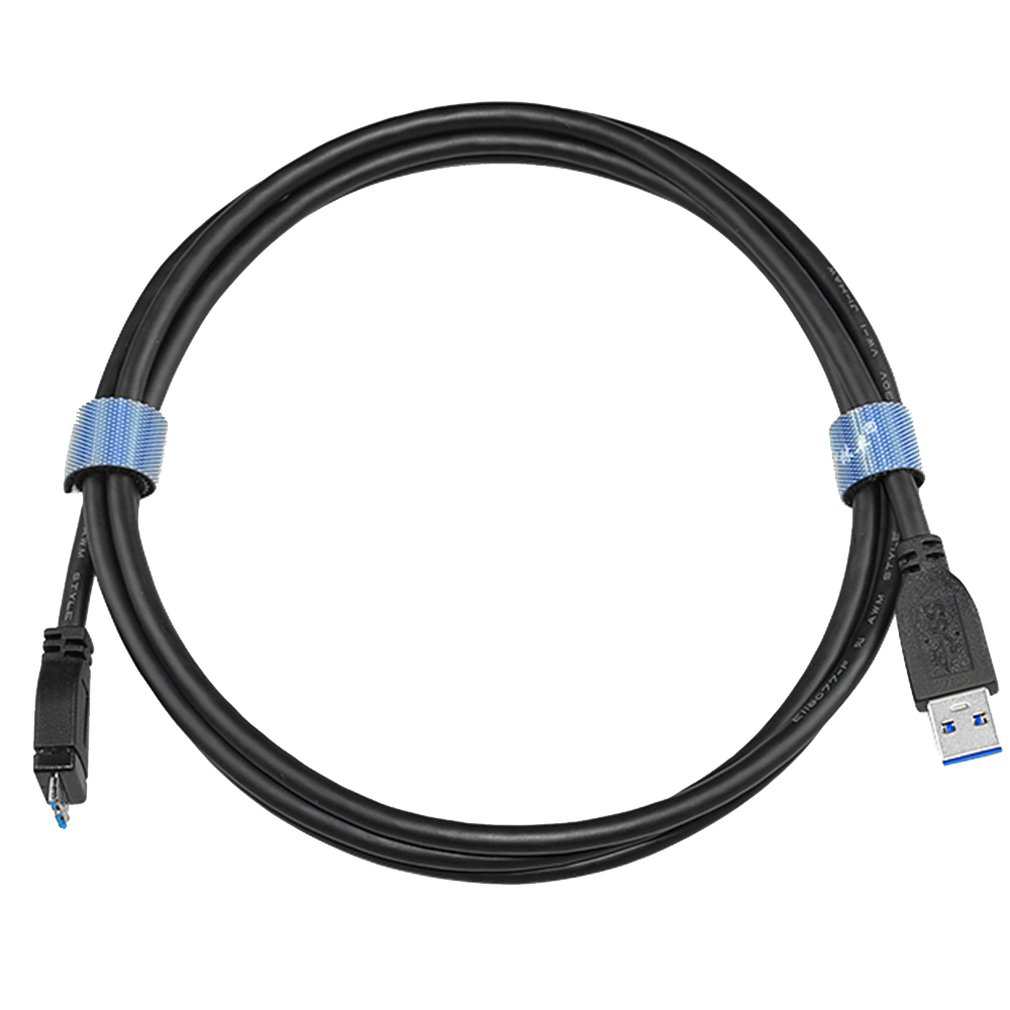 1PC High Speed Micro USB3.0 Cable USB3.0 Type A to Micro <font><b>B</b></font> Cord For Samsung S5 Hard Disk <font><b>Black</b></font> image