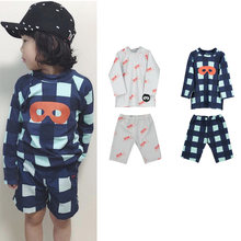 2020 New Summer Beau Loves Swimsuit For Baby Girl Swimwear Toddler Swim BL Brand Boys Girls Long Sleever Bathing Suit B(China)