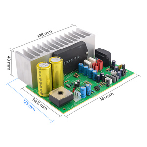 Image 2 - AIYIMA STK401 Audio Amplifier Board Amp 140W*2 HIFI 2.0 Channel High Power Amplifier AC24 28V Home Theater Diy