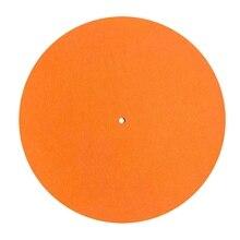 3 мм толстый антистатический войлок опорный диск проигрыватель коврик антивибрационный скользящий коврик аудиофил для LP винил пластинка плееры