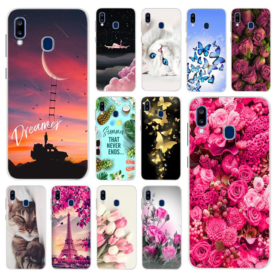For Samsung Galaxy A20 Case Silicone TPU Protective Cover Phone Case For Samsung A20e A20 A205F A205 A 20 E SM-A205F Case Bumper