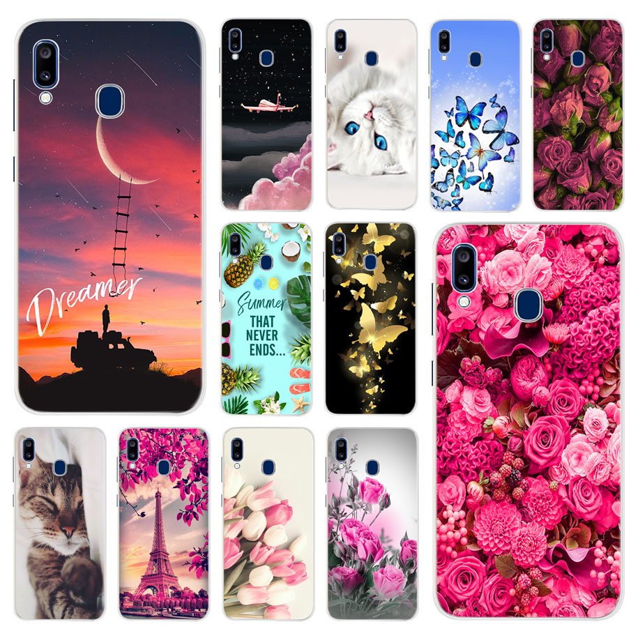 For <font><b>Samsung</b></font> <font><b>Galaxy</b></font> <font><b>A20</b></font> Case Silicone TPU Protective Cover Phone Case For <font><b>Samsung</b></font> A20e <font><b>A20</b></font> A205F A205 A 20 e SM-A205F Case Bumper image