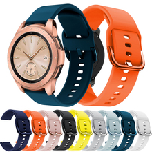 20mm Watchbands Silicone-Strap Amazfit Gtr Samsung Active 2-Gear for Galaxy 3-41mm/Active/2-gear/S2