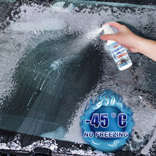 Auto Enteisung Mittel Enteisung Spray Windschutzscheibe Schnee Entfernung Flüssigkeit Spray Schnelle Schmelzen Frostschutz Flüssigkeit 30ml/100ml/200ml