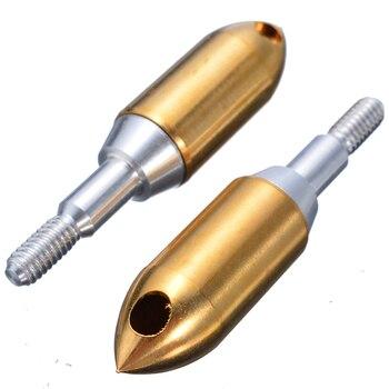 6Pcs Whistle Arrowhead High Quality Copper Iron Hunting Archery Arrow Head Tool Broadhead Outdoor Hunting Whistle Arrow Heads 5