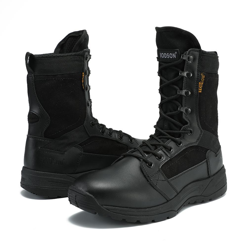 2019 Nieuwe Aankomst Mannen Schoenen Lace up Tactische Militaire Laarzen Comfortabele Ademende Schoenen Werken Veiligheid Laarzen Zapatos De Hombre - 6