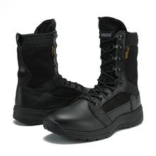 Autumn Men Tactical Military Boots Outdoor Working Safey Ankle Combat Desert Shoes New Arrival Fashion Women