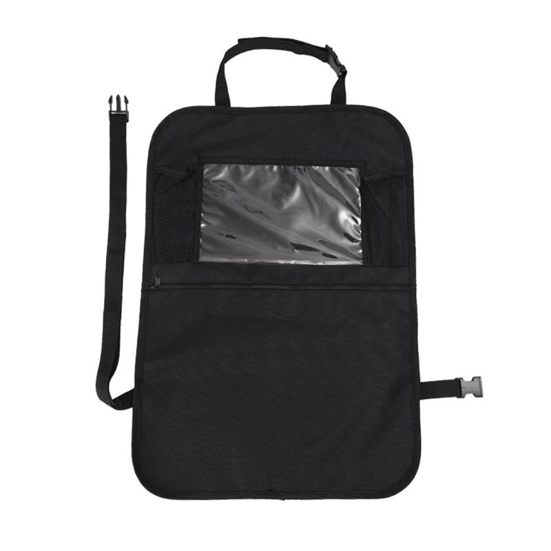 1 Pc Car Back Seat Organizer Front Seat Storage Kids Pocket Bag Auto Travel Kick Mat