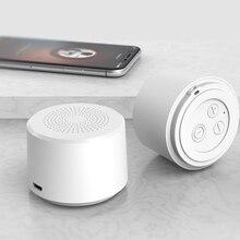2019 круглая портативная Мини Беспроводная Bluetooth Колонка сабвуфер Smart Голосовое управление портативная Bluetooth Колонка 5,0