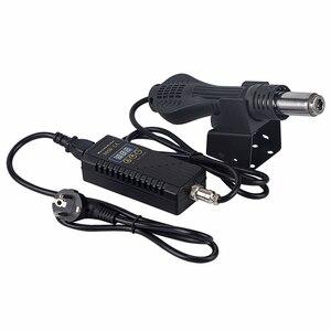 Image 5 - Pistola de aire caliente 8858, estación de soldadura de BGA refundido portátil, soplador de aire caliente, pistola de calor de mano de 220V con herramientas de reparación de soldadura