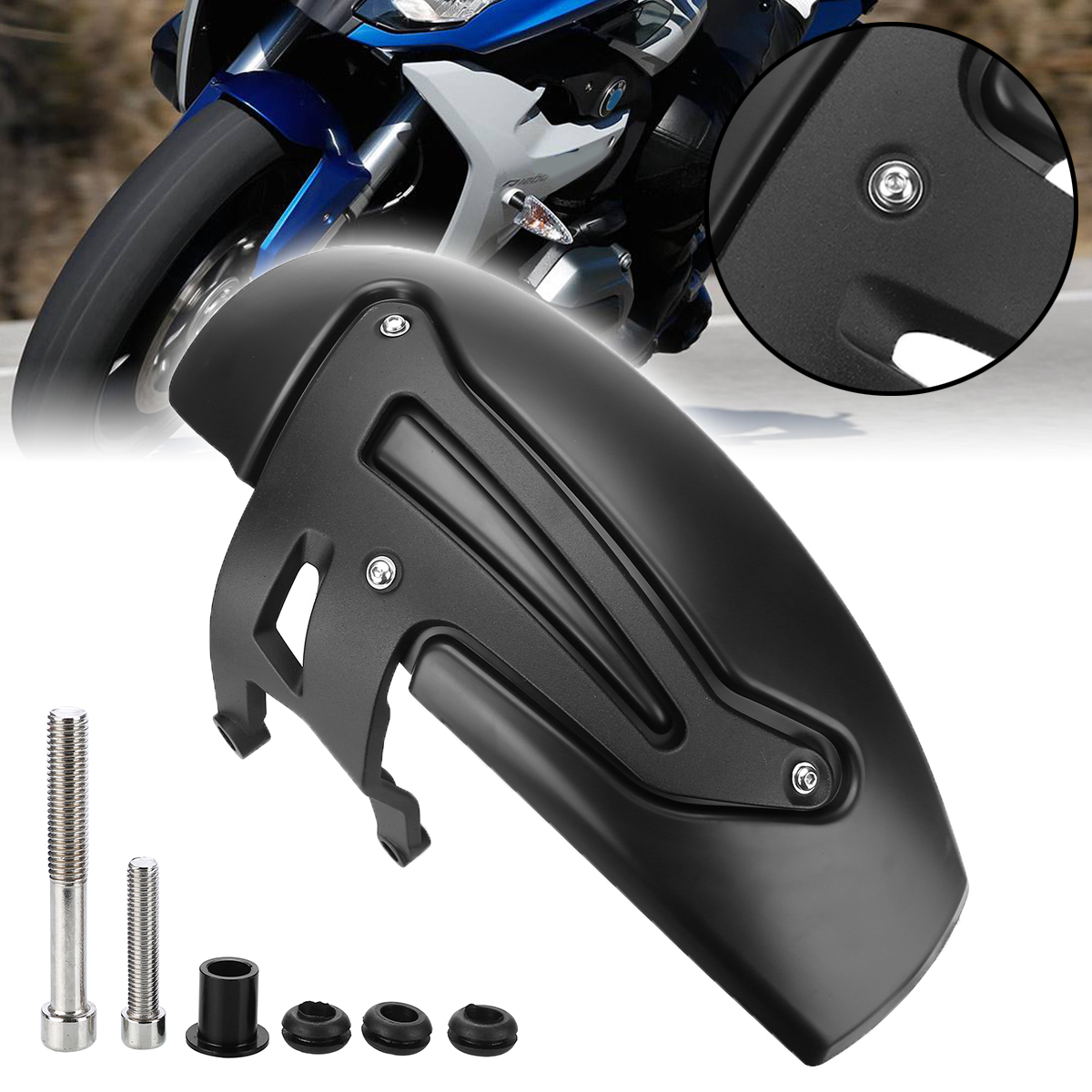 Motorcycle Rear Hugger Fender <font><b>Moto</b></font> Mudguard Accessories For <font><b>BMW</b></font> R1200GS <font><b>LC</b></font> 2013 - 2017 2018 R <font><b>1200</b></font> <font><b>GS</b></font> <font><b>LC</b></font> Adventure 2014-2018 image