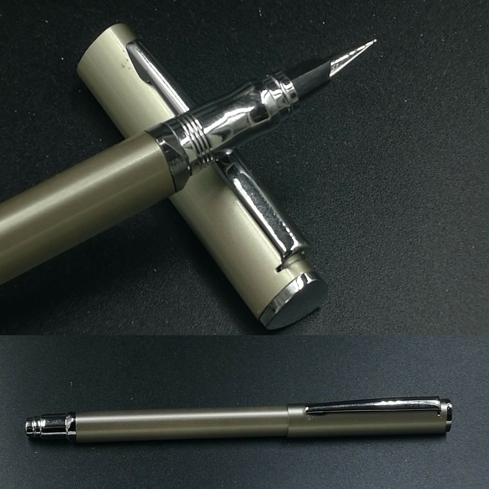 Old Stock Vintage Wing Sung 825 Fountain Pen Aerometric Pen 1999S