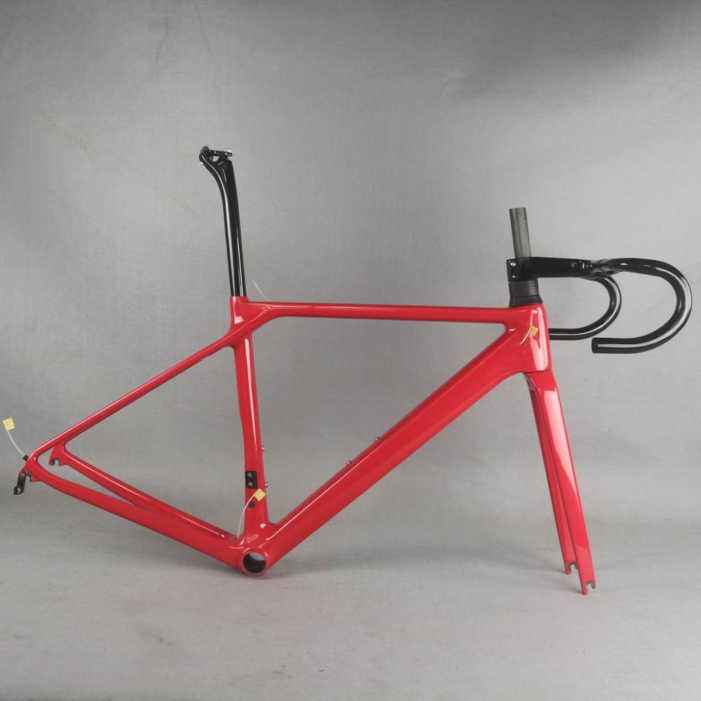 SERAPH bike new V brake carbon road frame Bicycle Frameset <font><b>fm008</b></font> New EPS technology road bike frame image